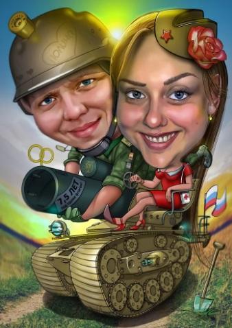 Смешные картинки танков карикатуры шаржи, пасха поздравления картинках