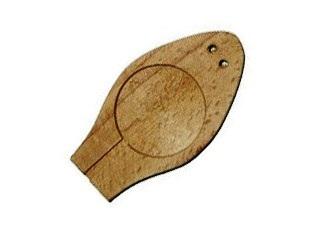 Плашка деревянная на 1 печать