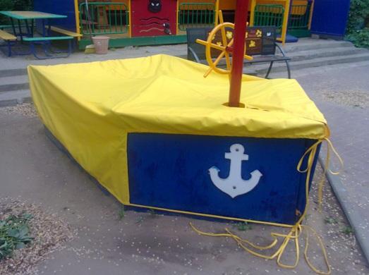 Чехол на песочницу в детский сад сшить своими руками